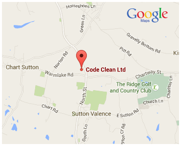Find Codeclean With Google Maps